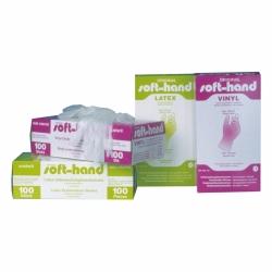 Latex-Handschuhe M leicht gepudert 100 Stk.