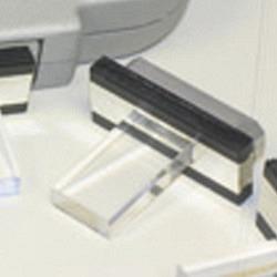 Lichtführungskristall 2.5 cm2