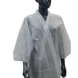 Kimono aus Vliesstoff weiss, 30gr/m2