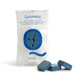 Quickepil Warmwachs Plättchen blau, 1 kg