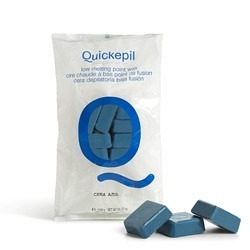 Quickepil Warmwachs Plättchen blau, 12 x 1 kg
