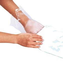Folien-Handschuhe für Paraffin 100 Stk.