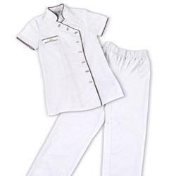Arbeitskleidung SET 2-teilig GdC - Weiss L