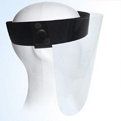 Plexi-Schutzschild fürs Gesicht