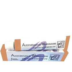 Wimpern- und Brauenfarbe 20ml, lichtbraun