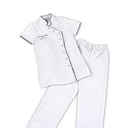 Arbeitskleidung SET 2-teilig GdC - Weiss S