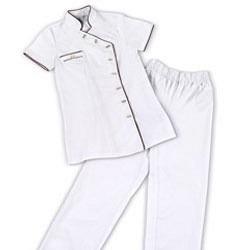 Arbeitskleidung SET 2-teilig GdC - Weiss M
