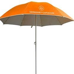 Strandschirm orange GdC, Sommer 2020